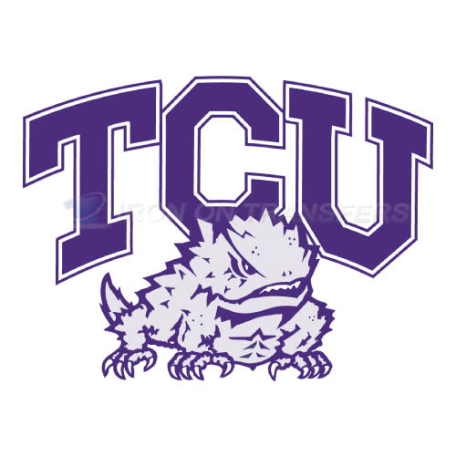 TCU Horned Frogs Iron-on Stickers (Heat Transfers)NO.6428