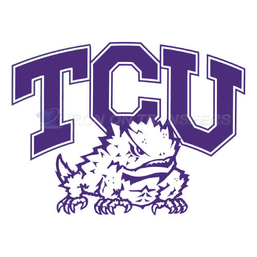TCU Horned Frogs Iron-on Stickers (Heat Transfers)NO.6430