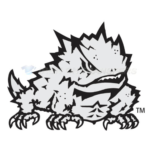 TCU Horned Frogs Iron-on Stickers (Heat Transfers)NO.6431