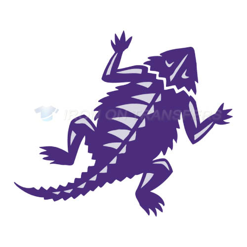 TCU Horned Frogs Iron-on Stickers (Heat Transfers)NO.6432