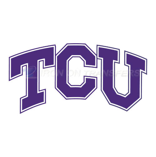 TCU Horned Frogs Iron-on Stickers (Heat Transfers)NO.6434