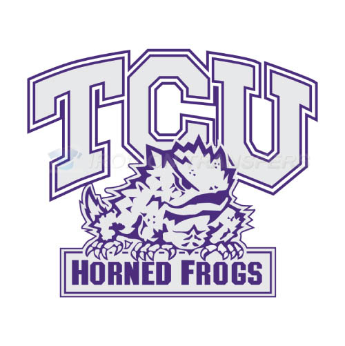 TCU Horned Frogs Iron-on Stickers (Heat Transfers)NO.6435