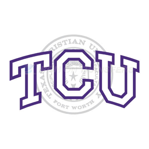 TCU Horned Frogs Iron-on Stickers (Heat Transfers)NO.6436