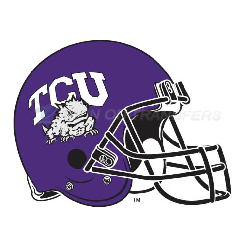 TCU Horned Frogs Iron-on Stickers (Heat Transfers)NO.6437