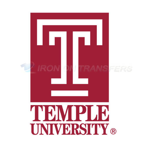 Temple Owls Iron-on Stickers (Heat Transfers)NO.6439