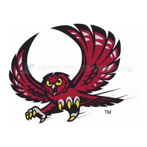 Temple Owls Iron-on Stickers (Heat Transfers)NO.6440