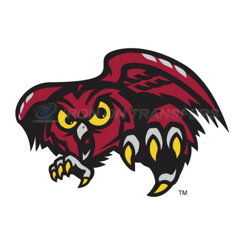 Temple Owls Iron-on Stickers (Heat Transfers)NO.6441