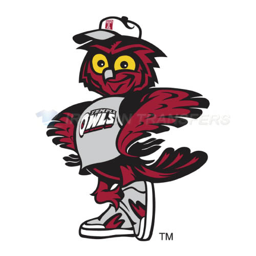 Temple Owls Iron-on Stickers (Heat Transfers)NO.6443