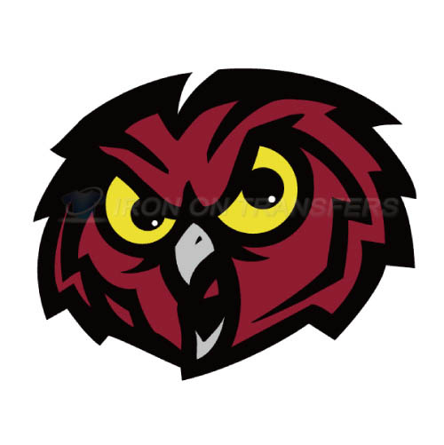 Temple Owls Iron-on Stickers (Heat Transfers)NO.6444