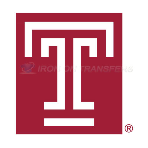 Temple Owls Iron-on Stickers (Heat Transfers)NO.6446