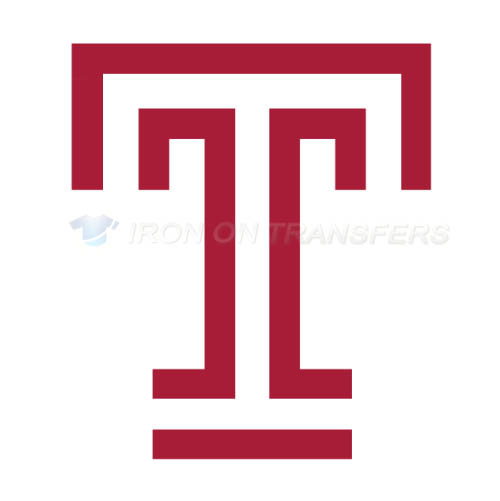 Temple Owls Iron-on Stickers (Heat Transfers)NO.6447