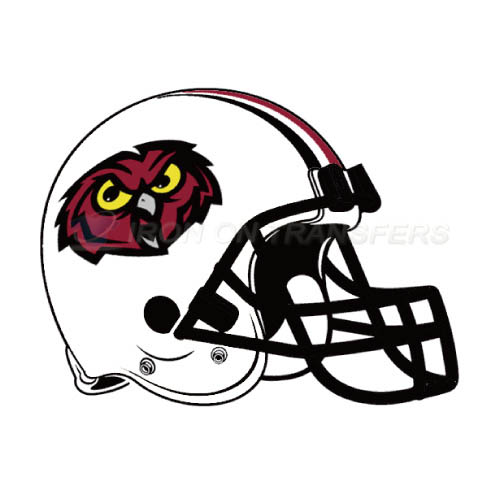 Temple Owls Iron-on Stickers (Heat Transfers)NO.6451