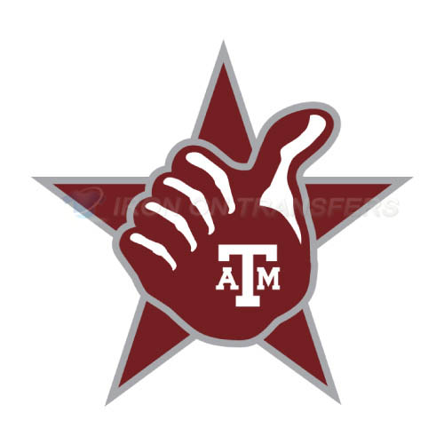 Texas A M Aggies Iron-on Stickers (Heat Transfers)NO.6486