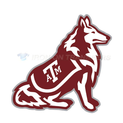 Texas A M Aggies Iron-on Stickers (Heat Transfers)NO.6489