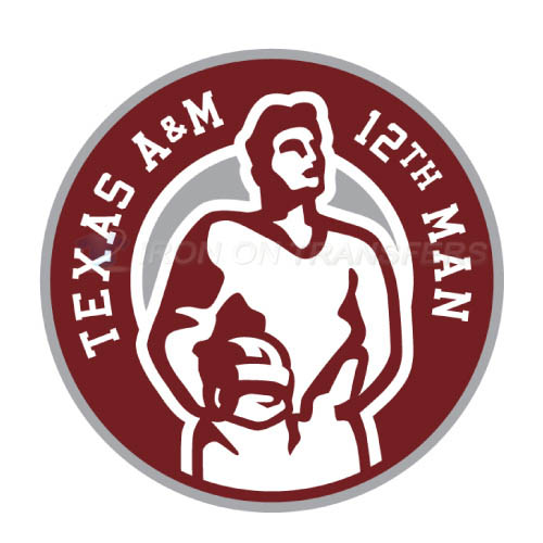 Texas A M Aggies Iron-on Stickers (Heat Transfers)NO.6491
