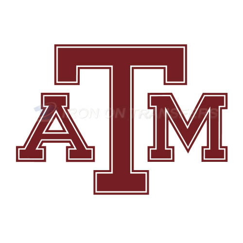 Texas A M Aggies Iron-on Stickers (Heat Transfers)NO.6492