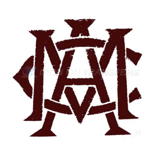 Texas A M Aggies Iron-on Stickers (Heat Transfers)NO.6494