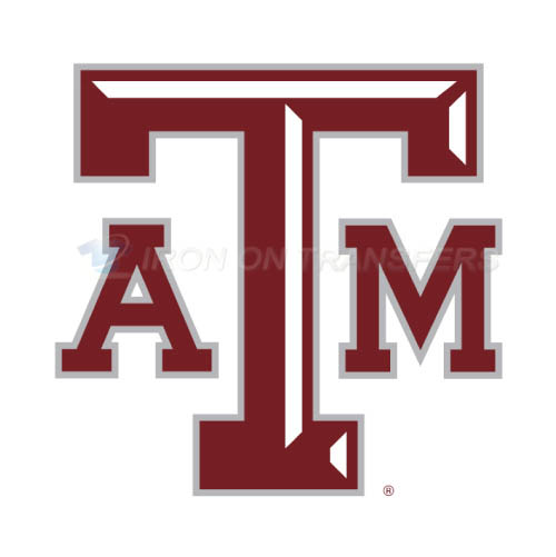 Texas A M Aggies Iron-on Stickers (Heat Transfers)NO.6495