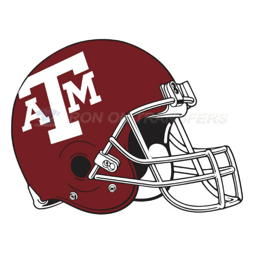 Texas A M Aggies Iron-on Stickers (Heat Transfers)NO.6497