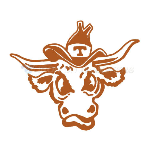 Texas Longhorns Iron-on Stickers (Heat Transfers)NO.6508