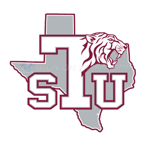 Texas Southern Tigers Iron-on Stickers (Heat Transfers)NO.6548
