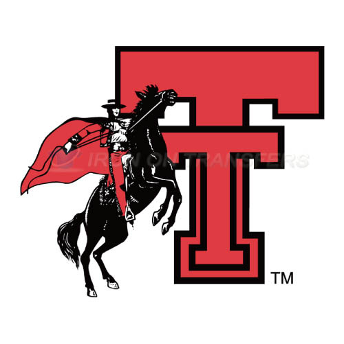 Texas Tech Red Raiders Iron-on Stickers (Heat Transfers)NO.6556
