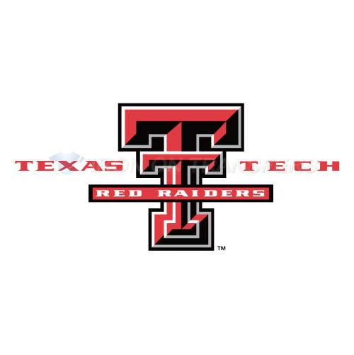 Texas Tech Red Raiders Iron-on Stickers (Heat Transfers)NO.6560