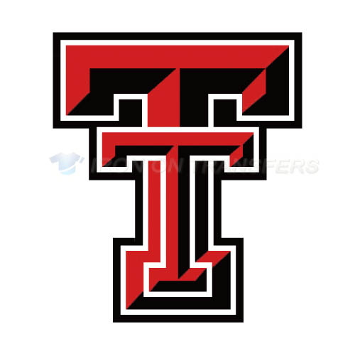 Texas Tech Red Raiders Iron-on Stickers (Heat Transfers)NO.6563