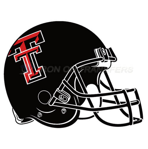 Texas Tech Red Raiders Iron-on Stickers (Heat Transfers)NO.6564