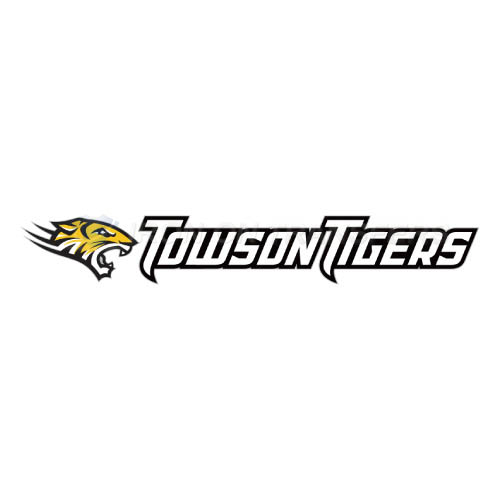 Towson Tigers Iron-on Stickers (Heat Transfers)NO.6576