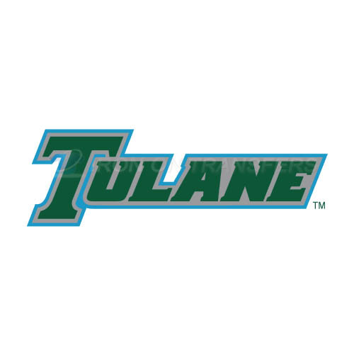Tulane Green Wave Iron-on Stickers (Heat Transfers)NO.6604