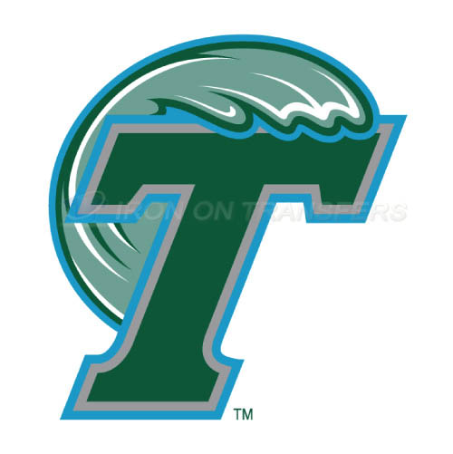 Tulane Green Wave Iron-on Stickers (Heat Transfers)NO.6605