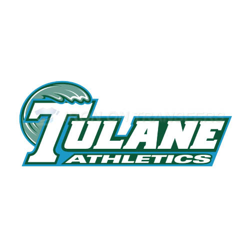 Tulane Green Wave Iron-on Stickers (Heat Transfers)NO.6606