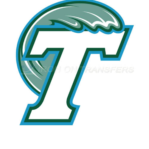 Tulane Green Wave Iron-on Stickers (Heat Transfers)NO.6608