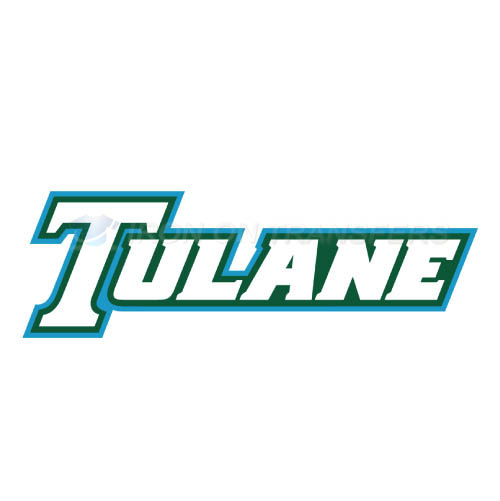 Tulane Green Wave Iron-on Stickers (Heat Transfers)NO.6609