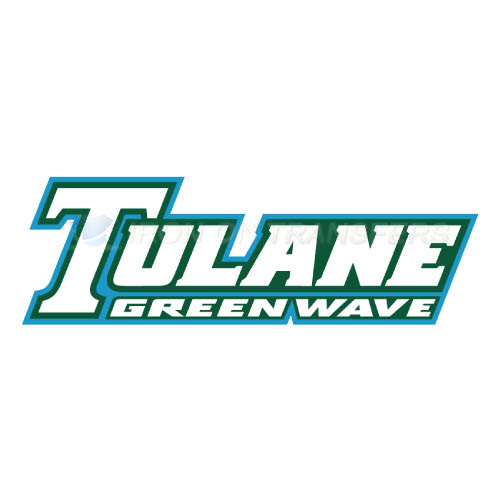 Tulane Green Wave Iron-on Stickers (Heat Transfers)NO.6610