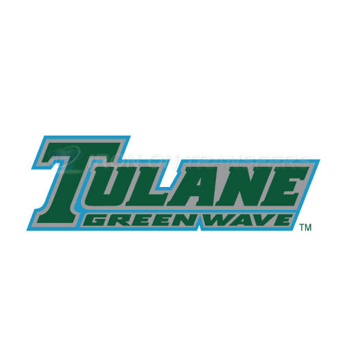 Tulane Green Wave Iron-on Stickers (Heat Transfers)NO.6611