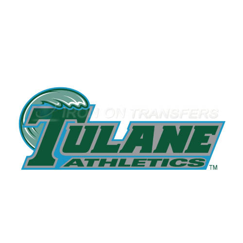 Tulane Green Wave Iron-on Stickers (Heat Transfers)NO.6612
