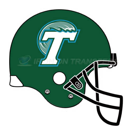 Tulane Green Wave Iron-on Stickers (Heat Transfers)NO.6613