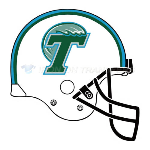 Tulane Green Wave Iron-on Stickers (Heat Transfers)NO.6614