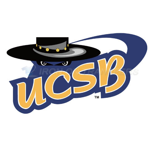UCSB Gauchos Iron-on Stickers (Heat Transfers)NO.6677