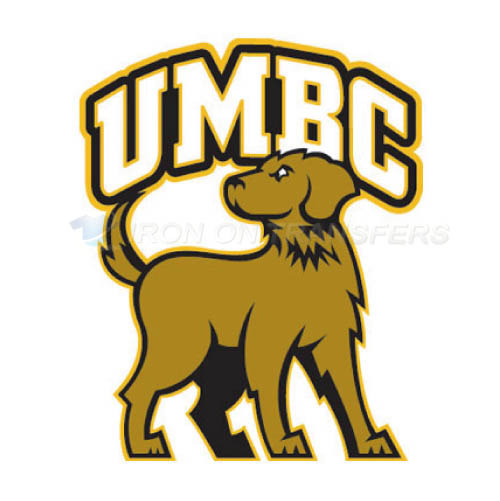 UMBC Retrievers Iron-on Stickers (Heat Transfers)NO.6686