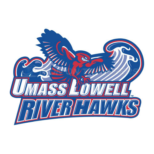 UMass Lowell River Hawks Iron-on Stickers (Heat Transfers)NO.6678