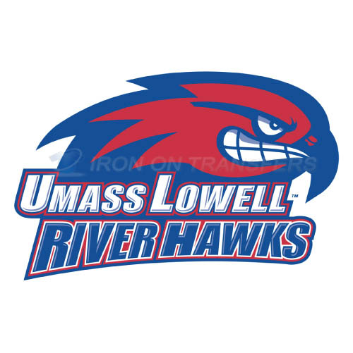 UMass Lowell River Hawks Iron-on Stickers (Heat Transfers)NO.6683