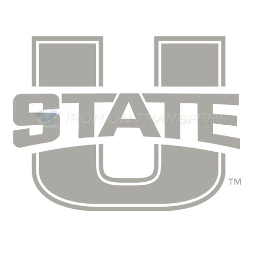 Utah State Aggies Iron-on Stickers (Heat Transfers)NO.6735