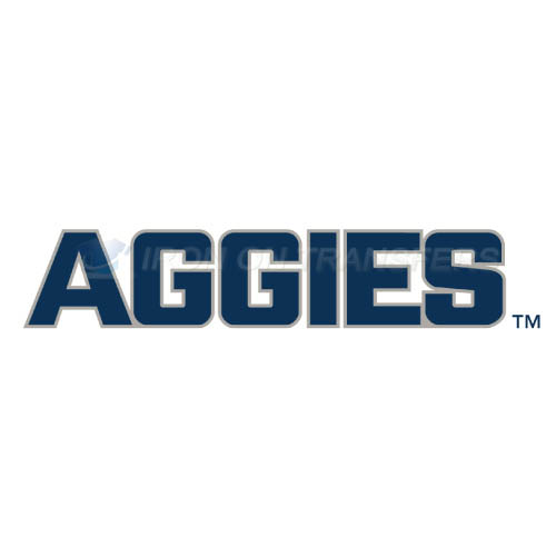 Utah State Aggies Iron-on Stickers (Heat Transfers)NO.6742