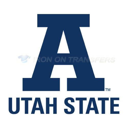 Utah State Aggies Iron-on Stickers (Heat Transfers)NO.6743