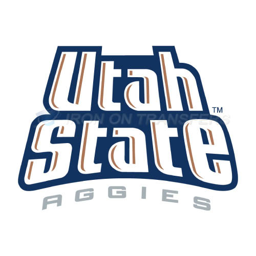 Utah State Aggies Iron-on Stickers (Heat Transfers)NO.6745