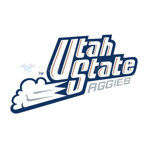 Utah State Aggies Iron-on Stickers (Heat Transfers)NO.6749