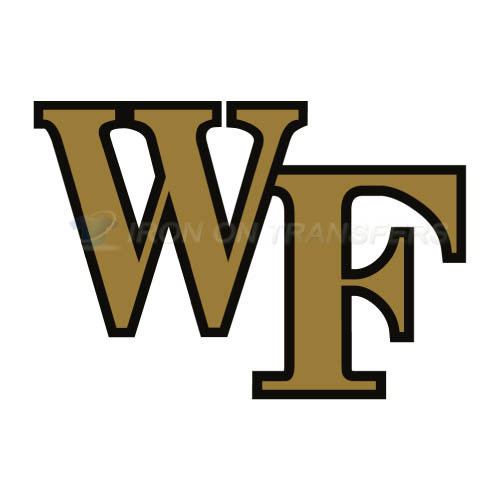 Wake Forest Demon Deacons Iron-on Stickers (Heat Transfers)NO.6880